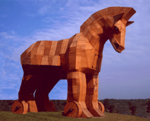 leveranciers prestatie en het paard van troje paradigma
